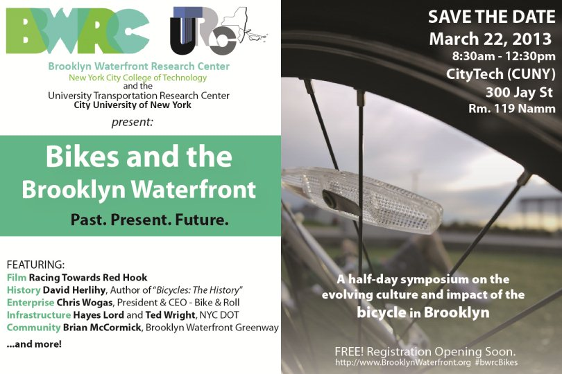 Save the Date! BWRC is hosting a conference on biking - March 22, 8:30am-12:30pm