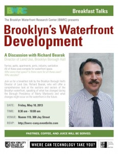 Brooklyn's Waterfront Development - May 10th Breakfast Talk