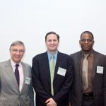 BWRC Director Prof. Richard Hanley, DOT Bicycle Coordinator Hayes Lord, and UTRC Director Prof. Camille Kamga